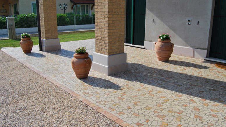 Posa pavimenti interni ed esterni in marmo pietra e granito for Design moderno del pavimento