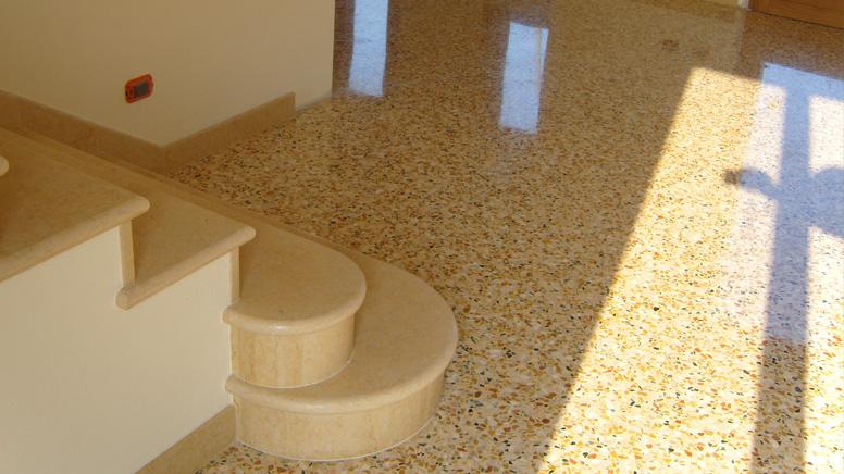 Terrazzo alla veneziana affordable secondo alcuni ha for Veneziana pavimento